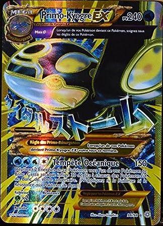 Pokémon - Carta ultrarrara de Primo-kyogre EX (96/98, 240 HP ...