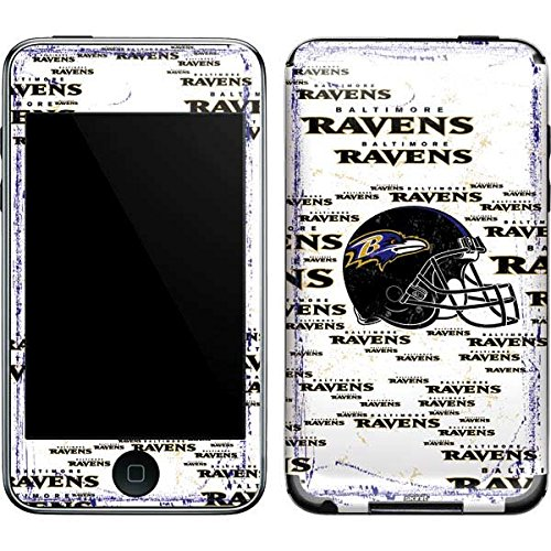 Baltimore Ravens Ipod Skin - NFL Baltimore Ravens iPod Touch (2nd & 3rd Gen) Skin - Baltimore Ravens - Blast Vinyl Decal Skin For Your iPod Touch (2nd & 3rd Gen)