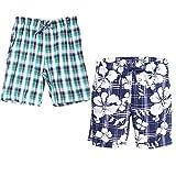 Godsen Men's Cotton Sleep/Lounge Shorts with Pockets