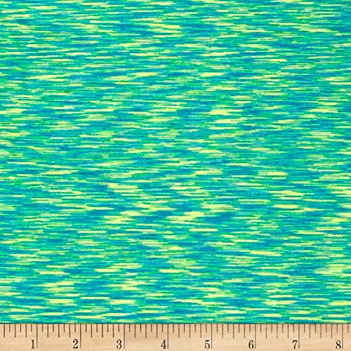 Crest Lighter (Pine Crest Fabrics Strata Athletic Knit Turquoise/Lime)