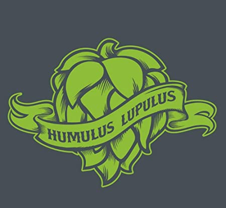 yaoxingfu Humulus Lupulus Planta Flor de Vinilo Etiqueta de La ...