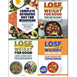 img - for complete ketogenic diet, lose weight for good the keto diet, low carb diet and slow cooker diet 4 books collection set book / textbook / text book