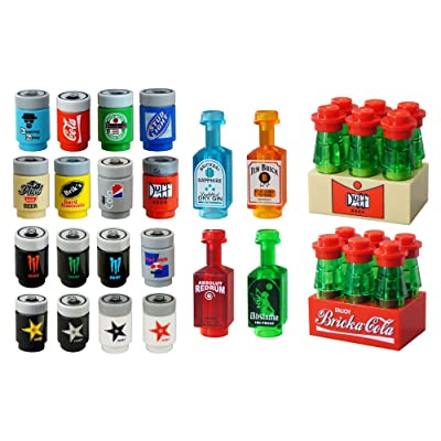 "Drink Can Mega Pack for 2"" Toy Minifigures: Everything Else"
