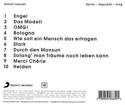 Annett Louisan Wie Soll Ein Mensch Das Ertragen Louisan Annett Berlin Kapstadt Prag Amazon Com Music