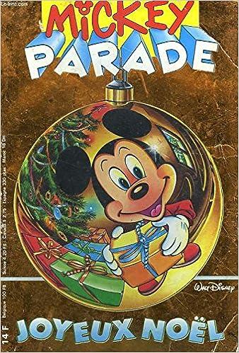 Image De Noel Walt Disney.Mickey Parade Joyeux Noel Walt Disney N 144 Dec 1991