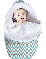 Blue-Yan Abrigo de la Manta de Swaddle del bebé recién Nacido, Saco de