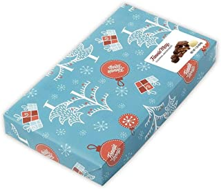 product image for Fannie May Holiday Wrap Colonial Chocolate Assortment, Christmas Candy Gift Box, 1 lb