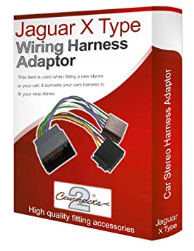 Connects2 Car Stereo Iso Wiring Adapter For Jaguar X Type Converter