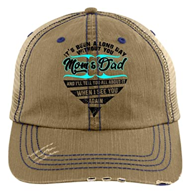 2c995fdd04928 A Long Day Without You Dad Trucker Cap