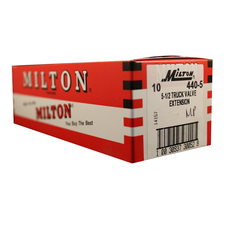 Milton 440-2 3 1//16 Truck Valve Extension Box of 10