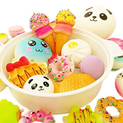 Cellphones & Telecommunications Squishy Cake Dessert Macaron Squishies Slow Rising Soft Squeeze Stuffed Squishy Toys Phone Decor Charms Mobile Phone Straps# Mobile Phone Accessories