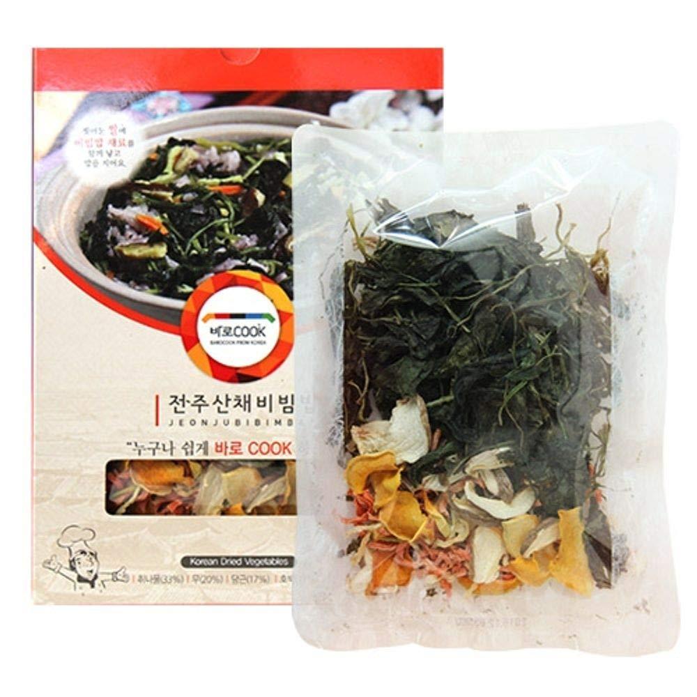 Dried Seasoned Thistle 25g x 3 Packs 비빔밥 Korean Food