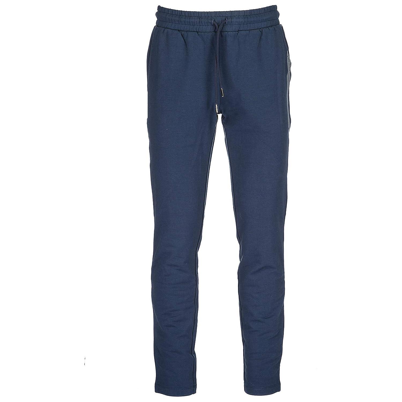 Emporio Armani EA7 Herren Hosen Jumpsuit Trainingsanzug blu