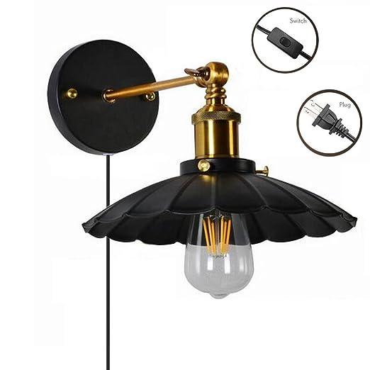 Amazon.com: kiven Plug en jaula estilo antiguo Edison ...