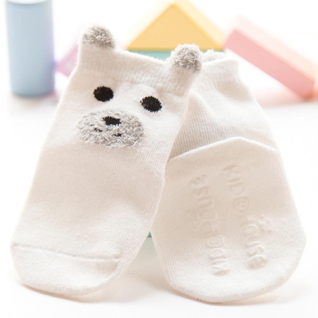 Digood Suit for 0-3 Years Old Kids Boys Girls Cute Cartoon Warm Socks