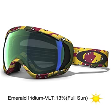 oakley rasta goggles rnyb  Oakley Canopy Tanner Hall Signature Series Snow Goggle with Emerald Lens