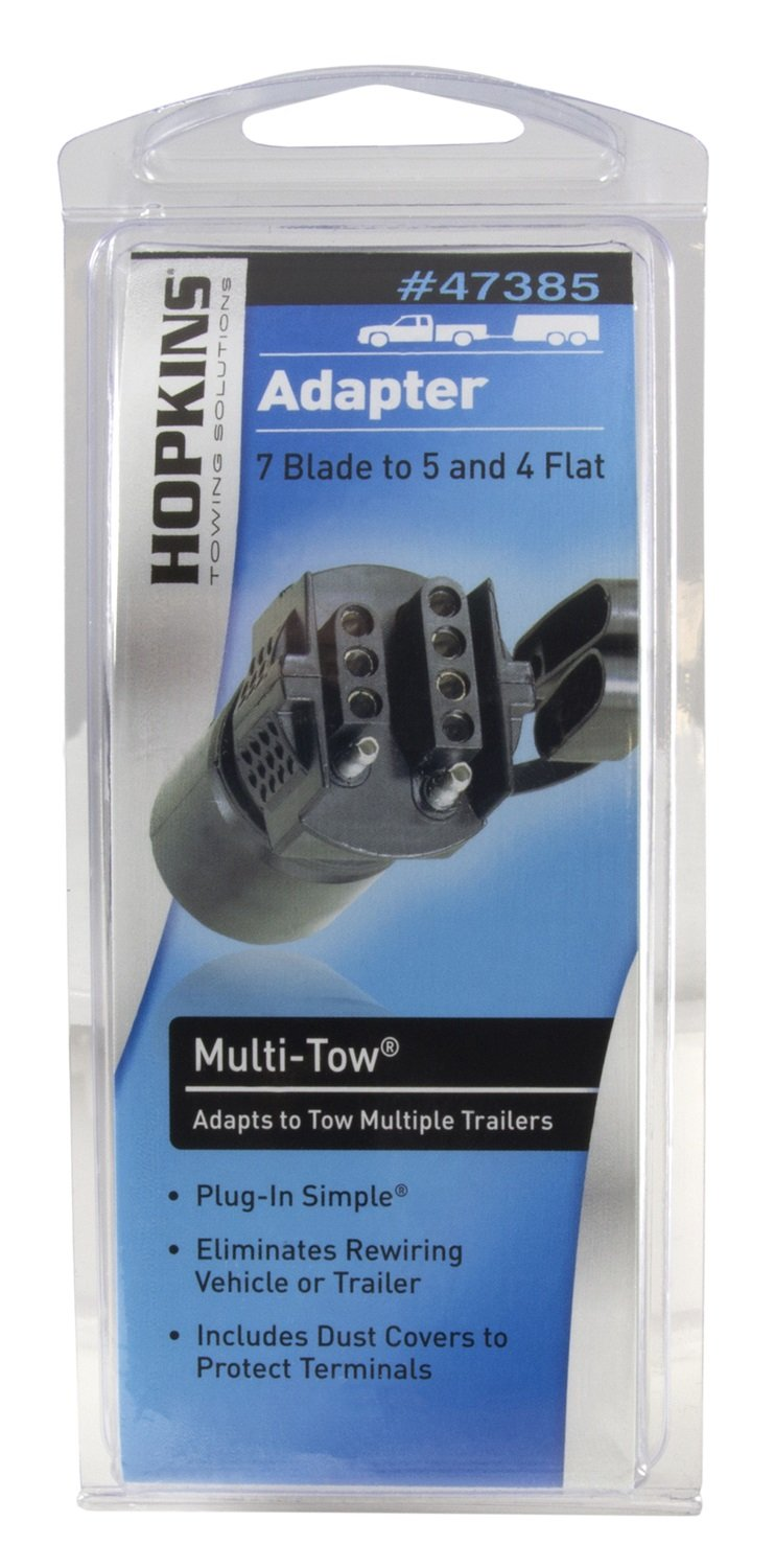 Hopkins 47385 Multi Tow Adapter Automotive Trailer Wiring Adapters
