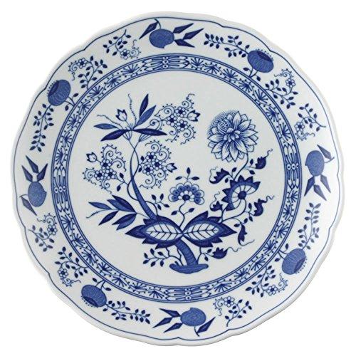 Hutschenreuther Blue Onion Motif Dinner Plate, Flat, Porcelain, 25 cm, 10225