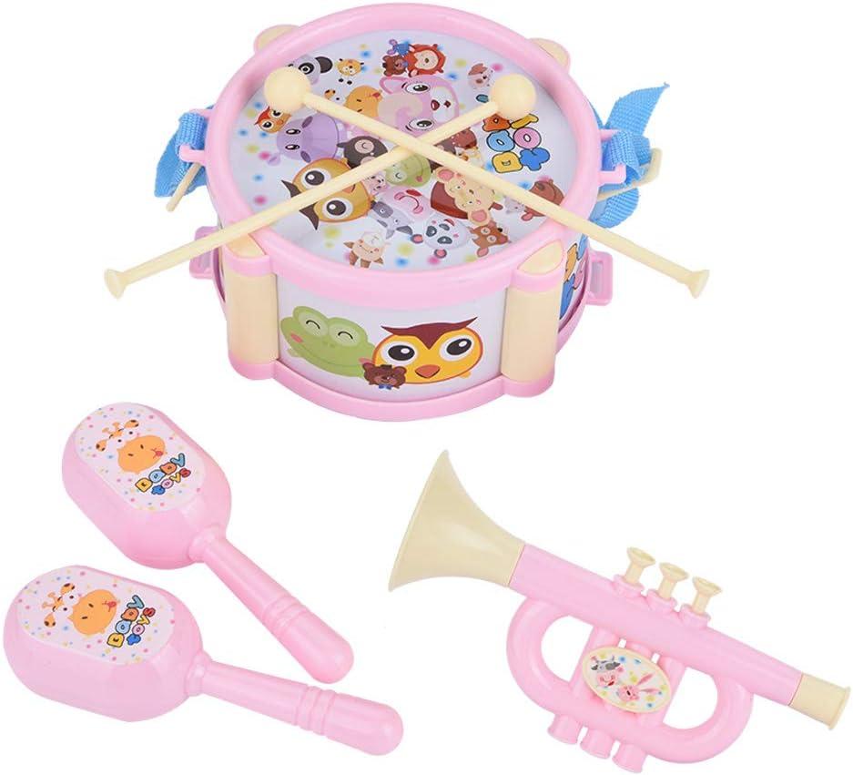 Garosa 6 Piezas de Instrumentos Musicales para Niños Pequeños ...