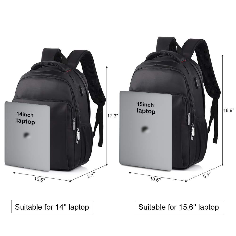 abb7234520 VBIGER Sac à Dos pour Ordinateur Portable Etanche Antivol avec Câble USB et  Port de Charge
