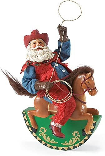 Department 56 Possible Dreams Cowboy Up Santa, 11.81 inch