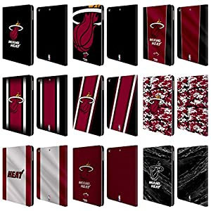 Official NBA Miami Heat Leather Book Wallet Case Cover For Apple iPad Air