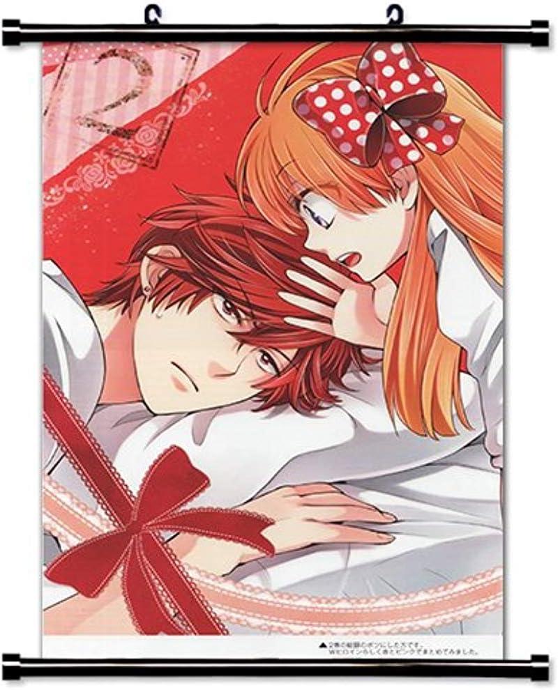 Amazon Com 002 Gekkan Shoujo Nozaki Kun 25x14 Inch Silk Poster