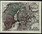 Scandinavia Sweden Kingdom Finland Norway 1762