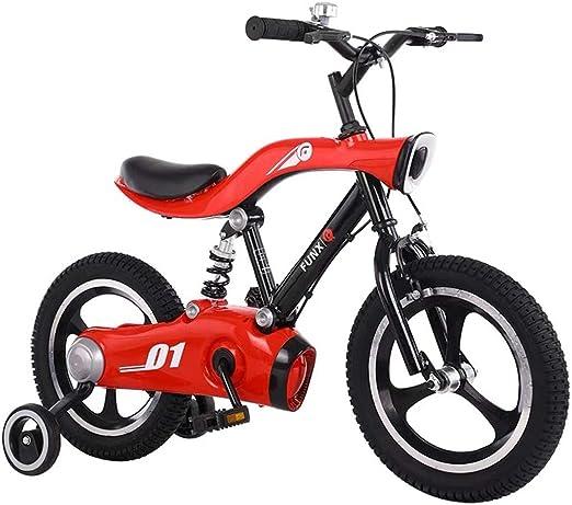 WuKai Bicicleta/Luz Trasera para Niños, LED, Soporte para Pies ...