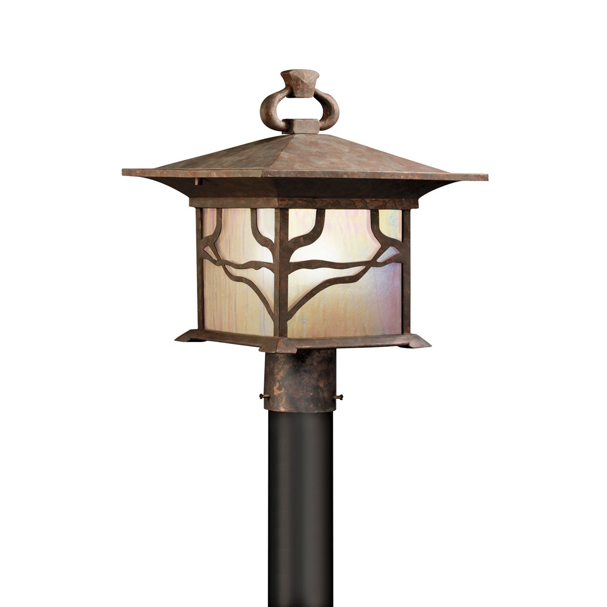 Kichler 9920DCO One Light Outdoor Post Mount