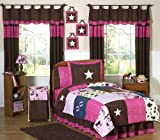 Sweet Jojo Designs 3-Piece Western Horse Cowgirl Teen Bedding Full / Queen Set