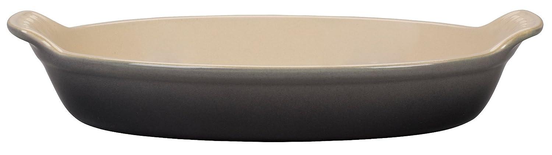 Le Creuset Stoneware Petite Au Gratin Dish - Black PG0400-12BW
