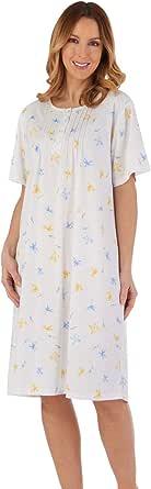 Slenderella ND55117 Women's Floral Nightdress