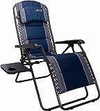 Quest Ragley Pro Relax Chair Camping Caravan Folding Recliner Relaxer   Blue