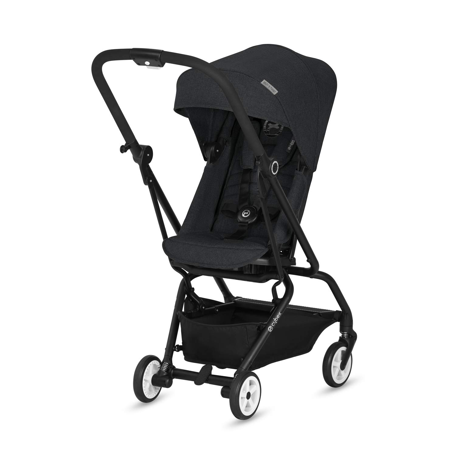Amazon Com Cybex 2018 Eezy S Twist Lavastone Black Baby