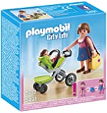 PLAYMOBIL Mother with Infant Stroller Playset