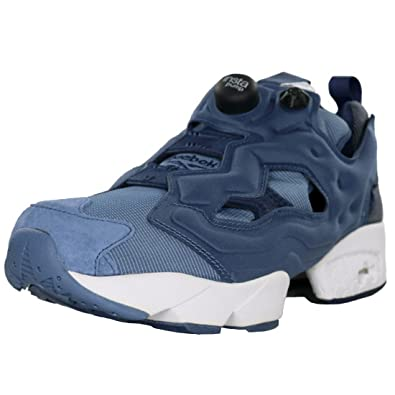 b1e4ebe41241 Reebok Men s Instapump Fury Tech Royal Slate Collegiate Navy Blue Slate  Athletic Shoe