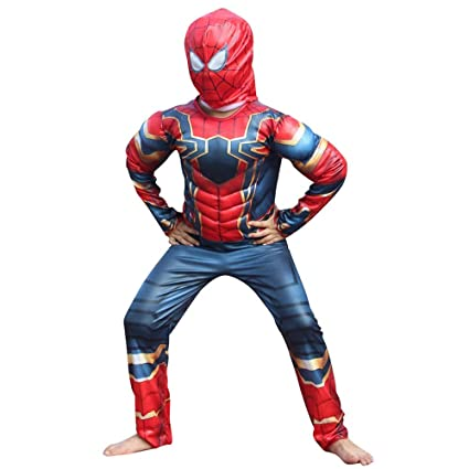 RNGNBKLS Disfraz De Spiderman para Niños Cosplay De ...