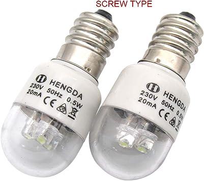 KUNPENG - # LED-E14 220V 2piezas Bombillas LED para la máquina de ...