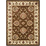Safavieh Lyndhurst Collection LNH555-2512 Traditional Oriental Brown and Ivory Area Rug (8'9″ x 12′) Review