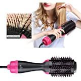 One Step Hair Dryer And Volumizer Brush Hair Dryer & Styler & Volumizer Multi-functional High-power 3-in-1For Hair Straightener & Curly Hair Comb for All Hair Type Reduce Hair Frizz