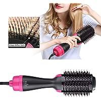 Pretty Comy Sèche-Cheveux et Volumateur Multifonctionnels, Brosse à Ions Négatifs, Défrisant, Bigoudi et Styler pour tous les Types de Cheveux