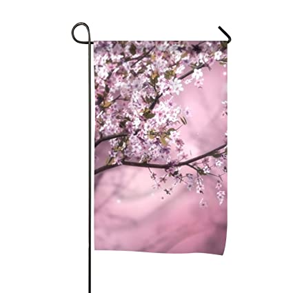 Amazon Com Wilbstrn Spring Flowers And Birds Garden Flag Double
