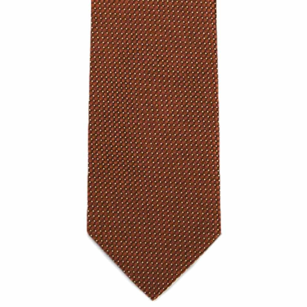 TieMart Special Purchase Slim Tie and Pocket Square Set in Rush