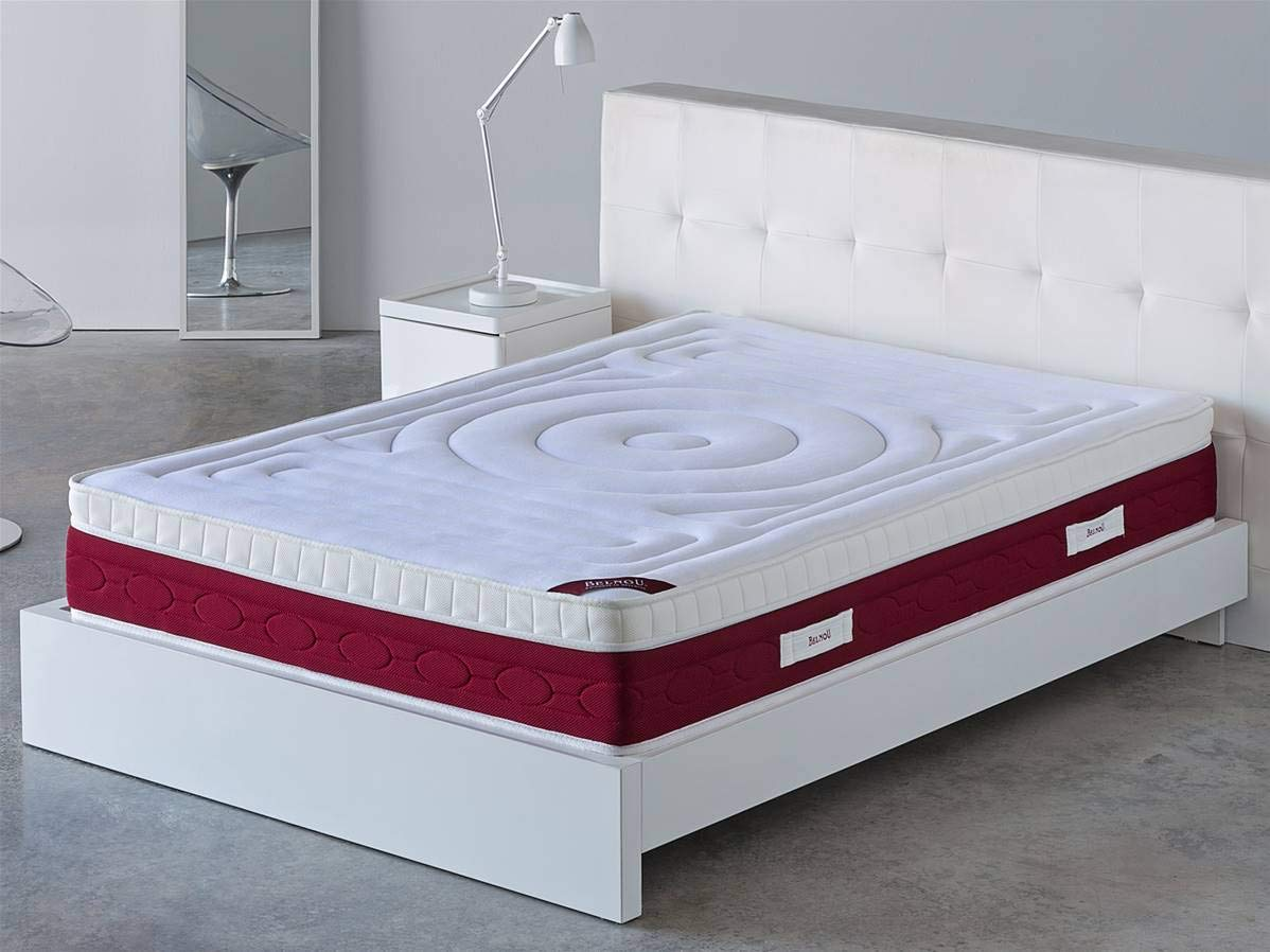 Belnou VISCOSUPREME Matratze, für Betten mit 80 cm, Länge 190 cm Cama 80 cm