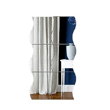Sisaki 3d Spiegel Wandaufkleber Wandspiegel Aufkleber Diy