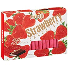 Meiji Strawberry Chocolate Box 28 Blocks x 2 packs