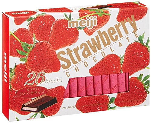 Meiji Strawberry Chocolate Box 28's x 2 packs