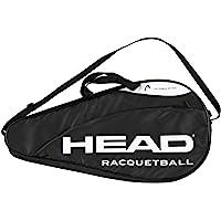 HEAD Racquetball Deluxe - Bolsa de Transporte para Raqueta con Compartimento para Accesorios y Correa Ajustable para el…