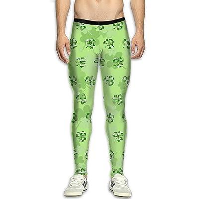 Fri St.Patrick's Day Compression Pants/Running Tights Baselayer Mens Winter Pants Men Spandex
